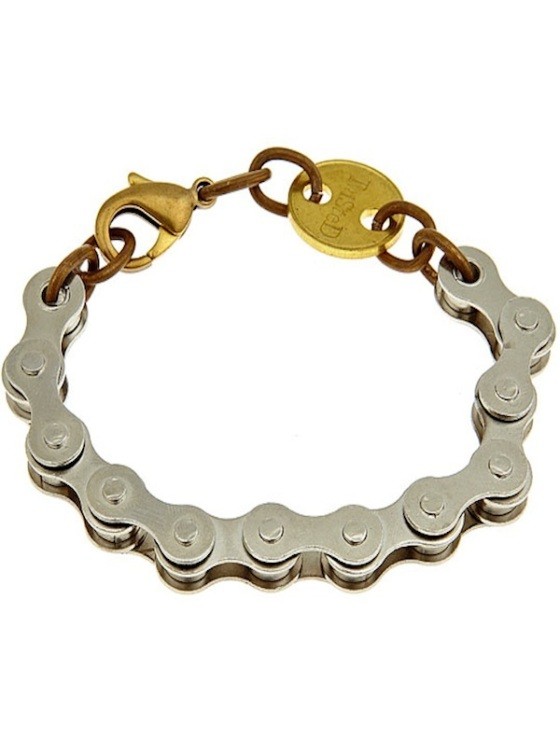 Twisted Silver RIDE bracelet