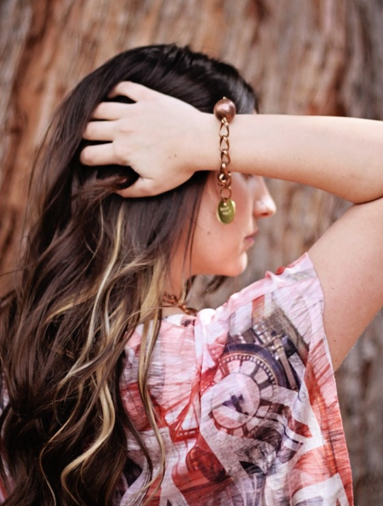 Twisted Silver's KILTER bracelet
