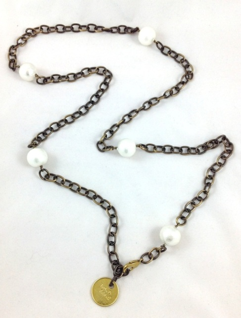 Twisted Silver's Wilma necklace