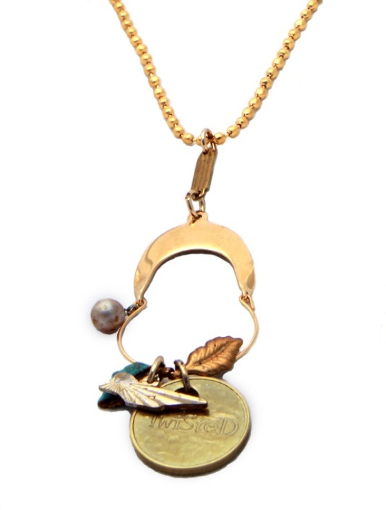 Tweet necklace